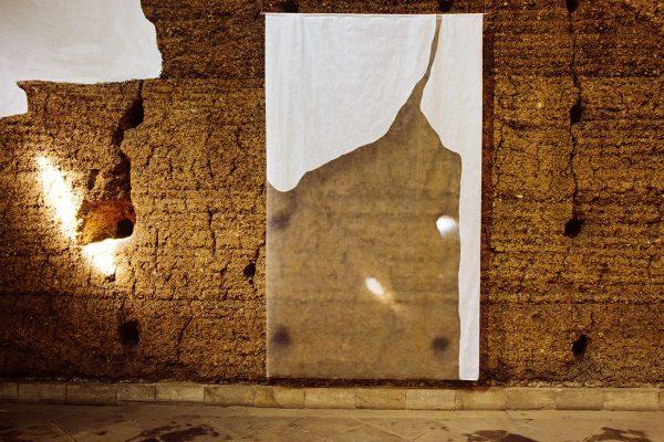 sem título, untitled, 2000 óleo sobre papel damar varnish on paper 250x156cm