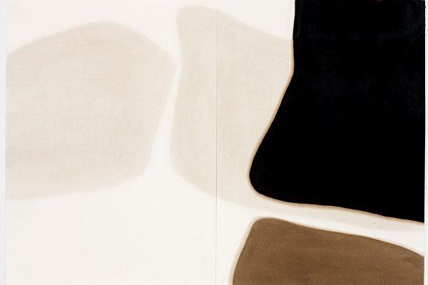 série arrabaldes, 2008 asfalto sobre papel asphalt on paper 85 x 120 cm