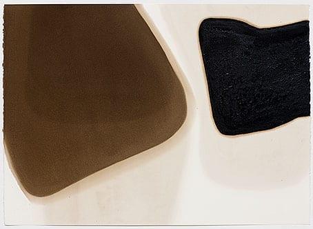 série arrabaldes, 2008 asfalto sobre papel asphalt on paper 62 x 85 cm
