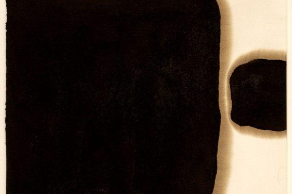 sem título I untitled, 2005 asfalto sobre papel asphalt on paper 35×25 cm