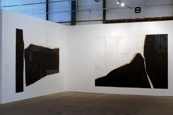 sem título | untitled, 2005 asfalto sobre papel asphalt on paper 300 x 420 cm